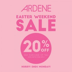 Coupon for: Ardene - Easter Sale!