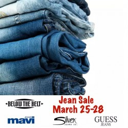 Coupon for: Below The Belt - Easter Weekend Denim Sale