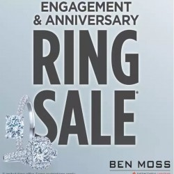 Coupon for: Ring Sale at Ben Moss!