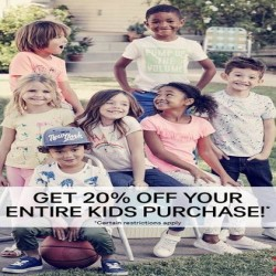 Coupon for: H&M Spring Kids Offer