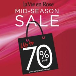Coupon for: Metropolis at metrotown - La Vie en Rose - Mid-season sale
