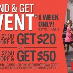 Coupon for: Halifax Shopping Centre - Sport Chek/Atmosphere - The Spend & Get Event!