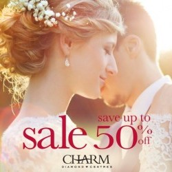 Coupon for: Halifax Shopping Centre - Charm Diamond Centres - Our Fall Diamond! Save up to 50% off.