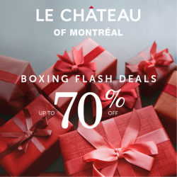 Coupon for: Midtown Plaza  - LE CHATEAU BOXING DAY