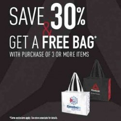 Coupon for: Toronto Premium Outlets - Back to School - Reebok Outlet