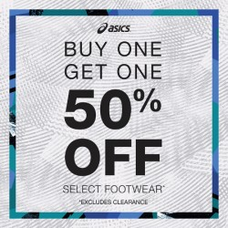 Coupon for: Fashion Outlets Niagara Falls - OFF Select Footwear at Asics