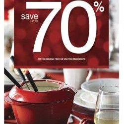 Coupon for:  Canada One Outlets - Stokes - The JOY of Holiday Entertaining