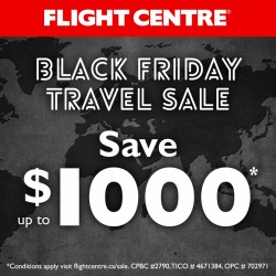 Coupon for: Dixie Outlet Mall - Black Friday Travel Sale at Flight Centre