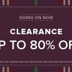 Coupon for: Toronto Premium Outlets - Clearance Up to 80% Off at Brooks Brothers Factory Store