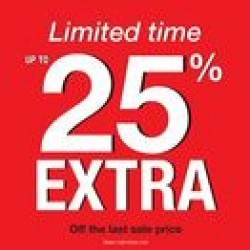 Coupon for: CF Chinook Centre - LIMITED TIME - UP TO EXTRA 25% OFF at Browns