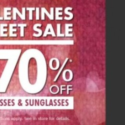 Coupon for: Metropolis at Metrotown - VALENTINE'S SWEET SALE at Luxury Eyewear