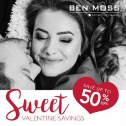 Coupon for: Midtown Plaza - BEN MOSS - SWEETHEART SAVINGS VALENTINE'S DAY SALE