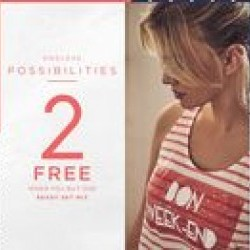 Coupon for: CF Polo Park - 2 FREE WHEN YOU BUY ONE! at LA VIE EN ROSE