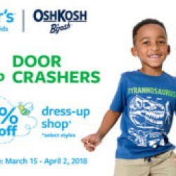 Coupon for: King's crossing Outlets - Carter's | Oshkosh – $6 & up doorcrashers