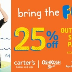 Coupon for: Canada One Outlets - Carter's OshKosh - Bring on the Fun!