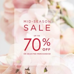 Coupon for: Canada One Outlets - La Vie En Rose - Mid-Season Sale