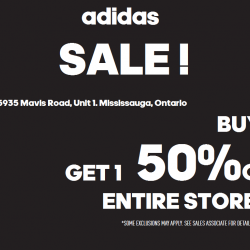 Coupon for: Heartland Town Centre - BUY ONE GET ONE 50% OFF ENTIRE ADIDAS STORE!!!