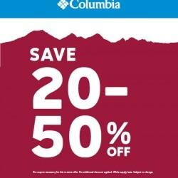 e533e7e8ed Windsor Crossing Premium Outlets - Entire Store 20-50% Off! at Columbia