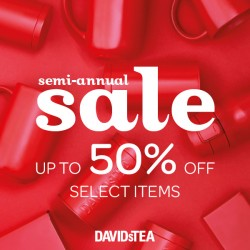 Coupon for: Midtown Plaza - SEMI ANNUAL SALE at David´s Tea