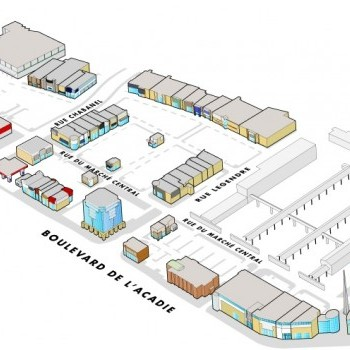 Link to Marché Central outlet mall plan