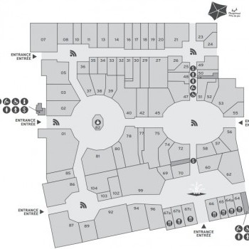 Link to McArthurGlen Designer Outlet Centre Vancouver Airport outlet mall plan